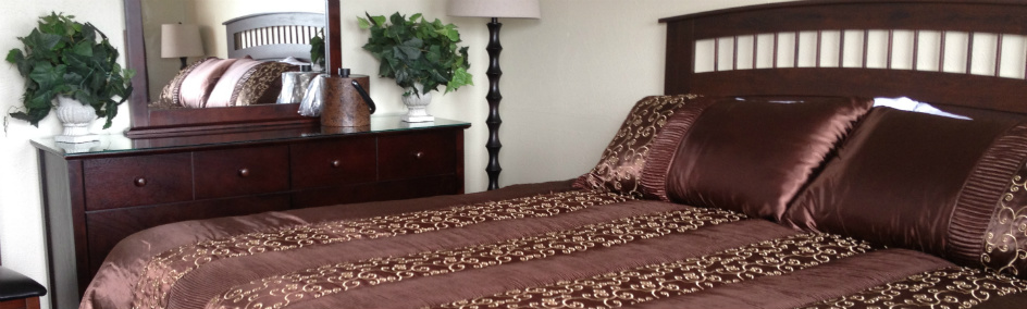 Stylishly Decorated Boutique Motel Rooms, Moses Lake
