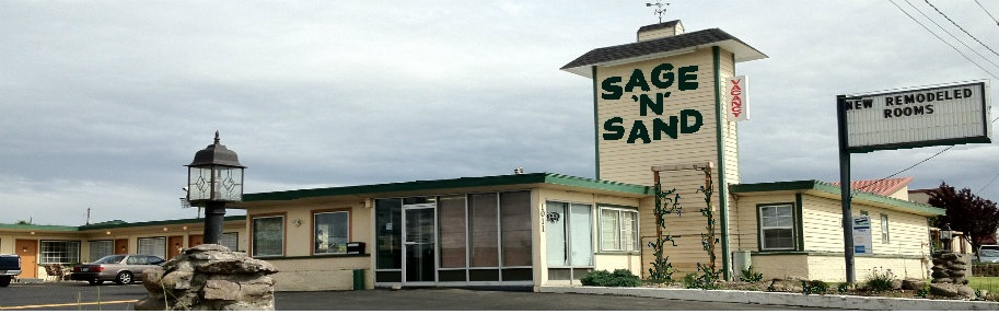 Hotel quality rooms available at Sage N Sand Motel Moses Lake